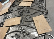 Scrolls in the Ironart workshop