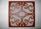 Laser cut security grille/air vent - Alderley Farm