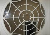 Combe Hay decorative circular security window grille