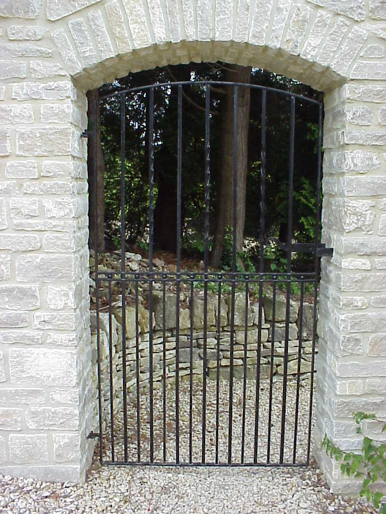 Single Gates Ironart Of Bath