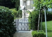 Single garden gate at Horton near Bath