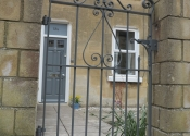 Raglan Terrace single wrought iron gate by Ironart of Bath