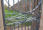 Wrought iron traditional gates (4)