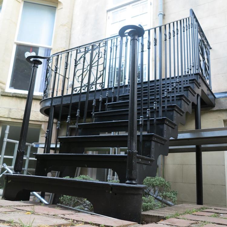 Decorative Case Iron Staircase, Clifton, Bristol