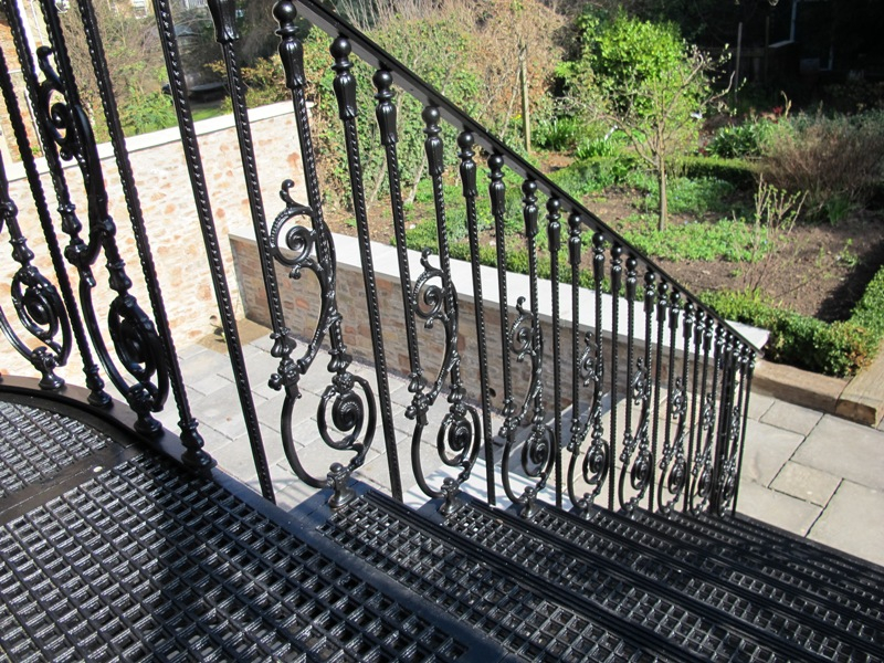 Cast Iron Staircase, Clifton, Bristol