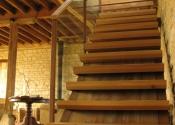 Staircase at Kington Langley