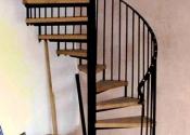 Internal spiral staircase by Ironart of Bath