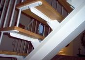 Internal staircase, by Ironart of Bath