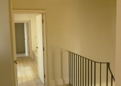 The Swainswick handrail before the wooden rail was fitted