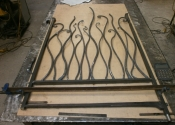 Preliminary assembly of the Anenome gate