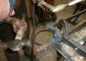 Dressing the heel pivot joint