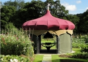 Tented Dining Pavilion at the Yorke Arms, Ramsgill-in-Nidderdale, Yorkshire
