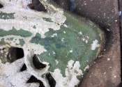 Is this the original green Coalbrookdale paint finish?