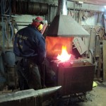 Firewelding at Ironart