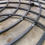 Gothic style wrought iron gates, Bath & Bristol