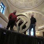 World Heritage Symbol - The Pump Rooms, Bath