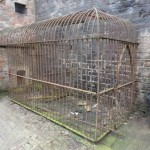 Wrought iron Dog cage, Tyntesfield House, Somerset