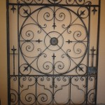 Wrought iron gate restoration - Ironart of Bath