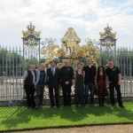 Students from the NHIG course at Hampton Court