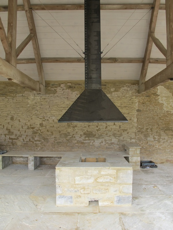 Fire hood for granary 2 & fire canopy | Ironart of Bath