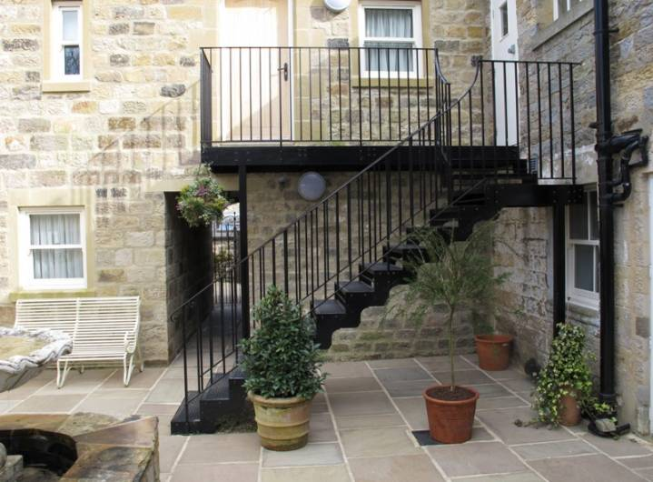 External Staircase On The Yorke Arms, Ramsgill