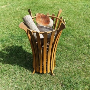 The Fluted brazier