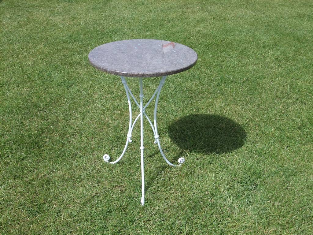 Granite Top Cafe Table