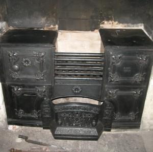 Range And Fireplace Restoration Ironart Of Bath