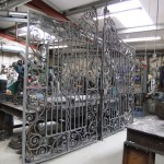 Restoration of Maperton House gates