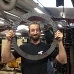 Simon Bushell - journeyman artist blacksmith at Ironart of Bath