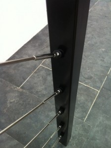 Stainless steel wire balustrade (2)