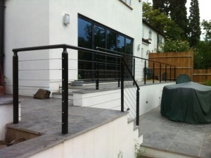 Stainless steel wire balustrade (3)