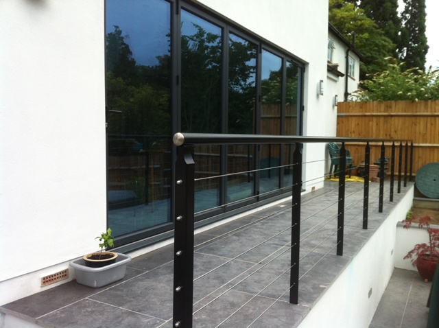 Stainless Steel Wire Balustrade Ironart Of Bath