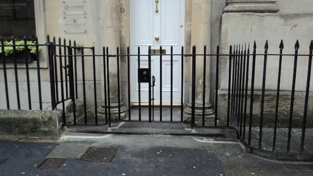 Georgian Railings With Gate Ironart Of Bath