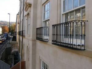 Bathwick street balconettes