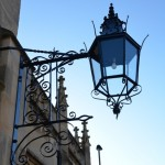 The lanterns at Christ Church, Julian Road, Bath