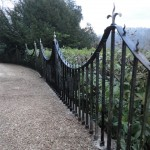 Wrought iron railing restoration (10)