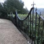 Wrought iron railing restoration (10)
