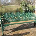 Coalbrookdale bench restoration