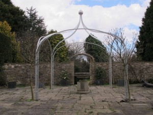 Arbour gazebo Farmborough Bath (5)