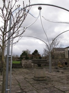Arbour gazebo Farmborough Bath (6)