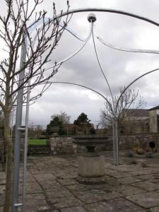 Arbour gazebo Farmborough Bath (6)