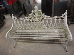 Cast iron bench repairs (7)