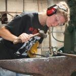 Blacksmithing courses at Ironart of Bath