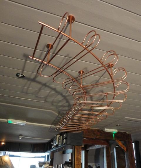 Bespoke glass rack for bar (1)
