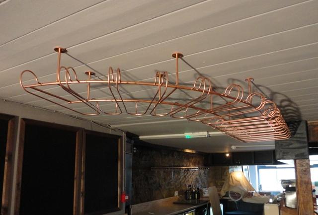 Bespoke glass rack for bar (2)