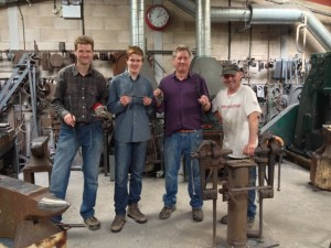 Blacksmith workshop with Martin