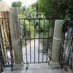 Gates at St Mary Tory chapel, Bradford on Avon