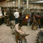 Blacksmithing workshops at Ironart of Bat