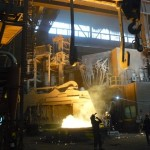 Cecilie Robinson visit to Sheffield Forgemasters International - September 2014